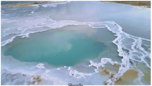 מים מים-המלח לטיפול באלופציה אראטה