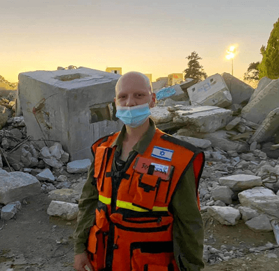 """בלה תלייסניק בחטיבת החילוץ של צה""""ל"""